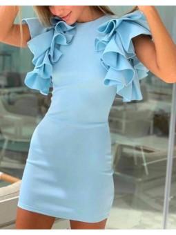 Vestido Isabella azul claro...