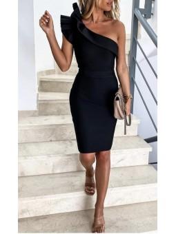 Vestido negro Paulina...
