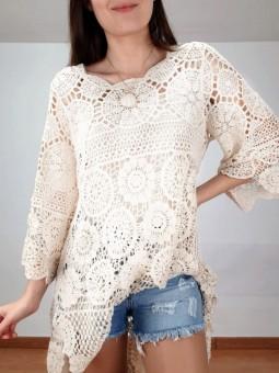 Conjunto vestido/suéter...