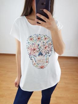 Camiseta calavera...