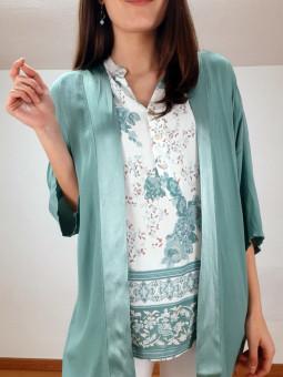 Chaqueta estilo kimono...