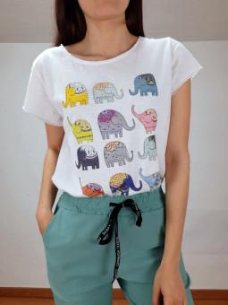Camiseta elefantitos...