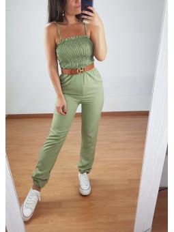 Mono Andrea verde militar...