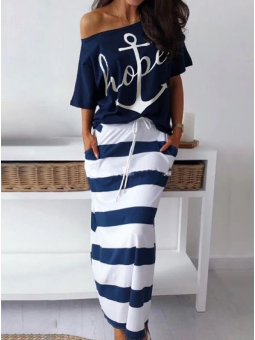 Conjunto falda + camiseta...