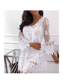 Vestido Marbella encaje +...
