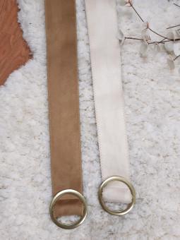 Cinturón fajín tela hebilla...