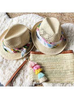 Sombrero pañuelo anudado