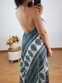 Vestido India cenefa...