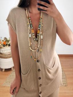 Collar triple Formentera