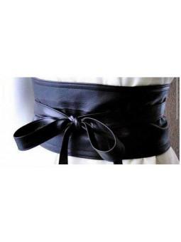 Cinturon piel sintetica