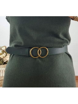 Cinturón verde oliva dos...