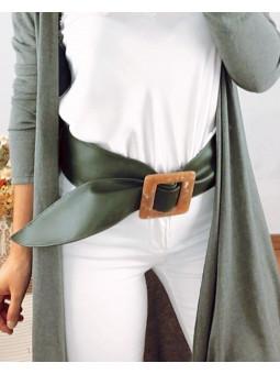 Cinturón ancho fajín...