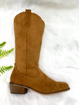 Bota marrón Cowboy (A188-17)
