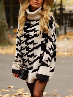 Vestido/suéter oversize...