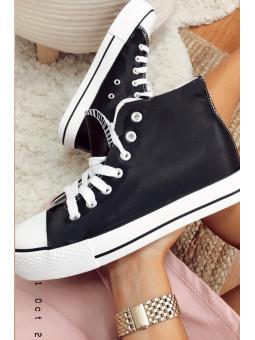 Zapatillas bota negras...