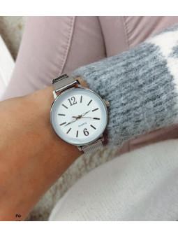 Reloj plata Numbers