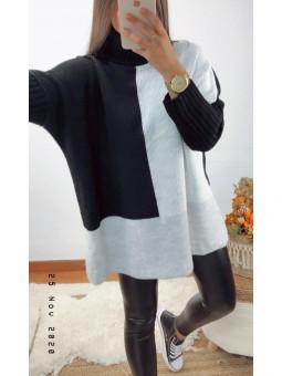 Suéter/vestido negro,...