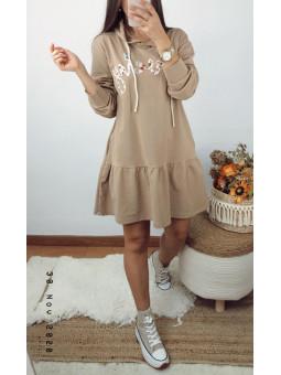 Vestido camel lovely...