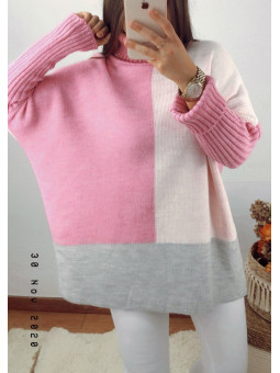 Suéter/vestido fucsia,...