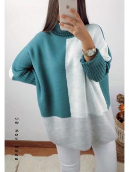 Suéter/vestido esmeralda,...