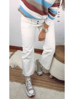 Pantalón blanco pana...