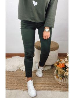 Pantalón vaquero verde...