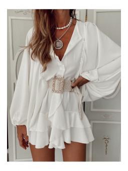 Vestido blanco Samira...
