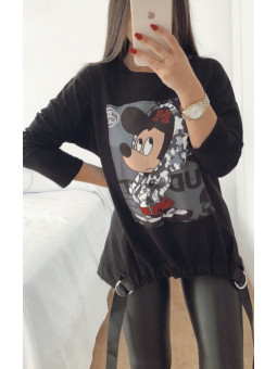Sudadera negra Mickey...