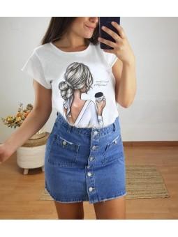 Camiseta manga corta chica...