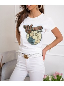 Camiseta Women power (M18)