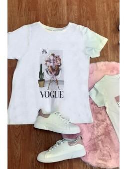 Camiseta chica  vogue