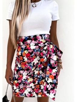Falda estampado floral Azucena