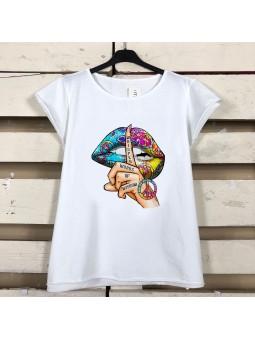 Camiseta silence multicolor...