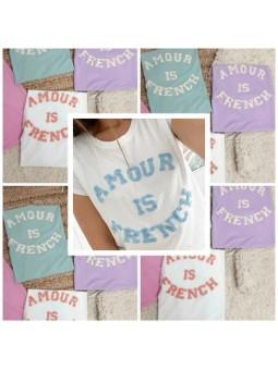 Camiseta Amour is french (V04)