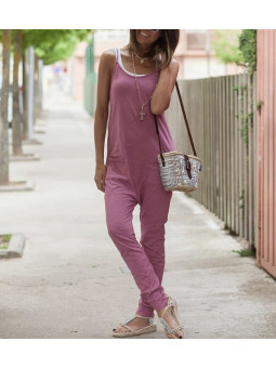 Mono Granada bolsillos rosa...