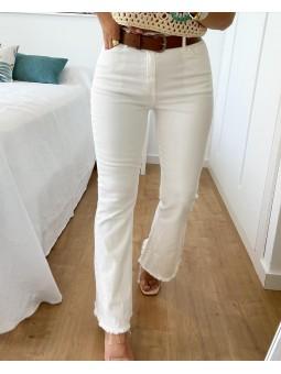Pantalón blanco culote...