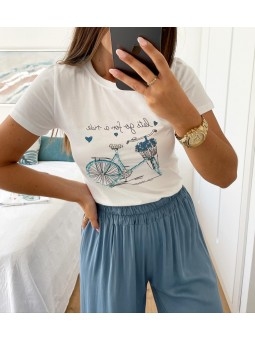 Camiseta manga corta bici...