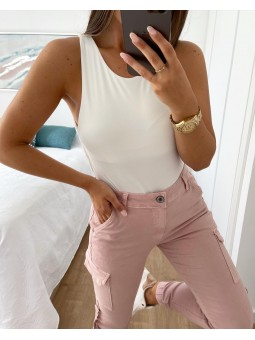 Body liso blanco Kate (M33)