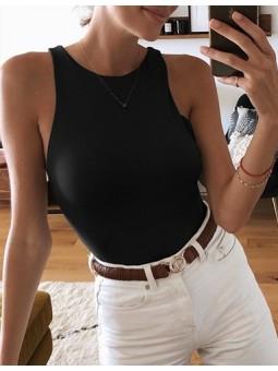 Body liso negro Kate (M33)