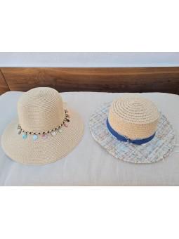 Sombrero rafia detalles...