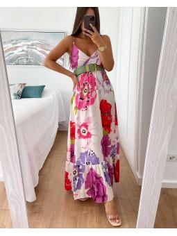 Vestido estampado  Anna (M33)