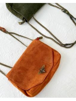 Bolso pequeño teja Bee 0318