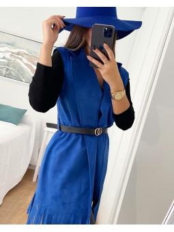 Sombrero azul klein liso