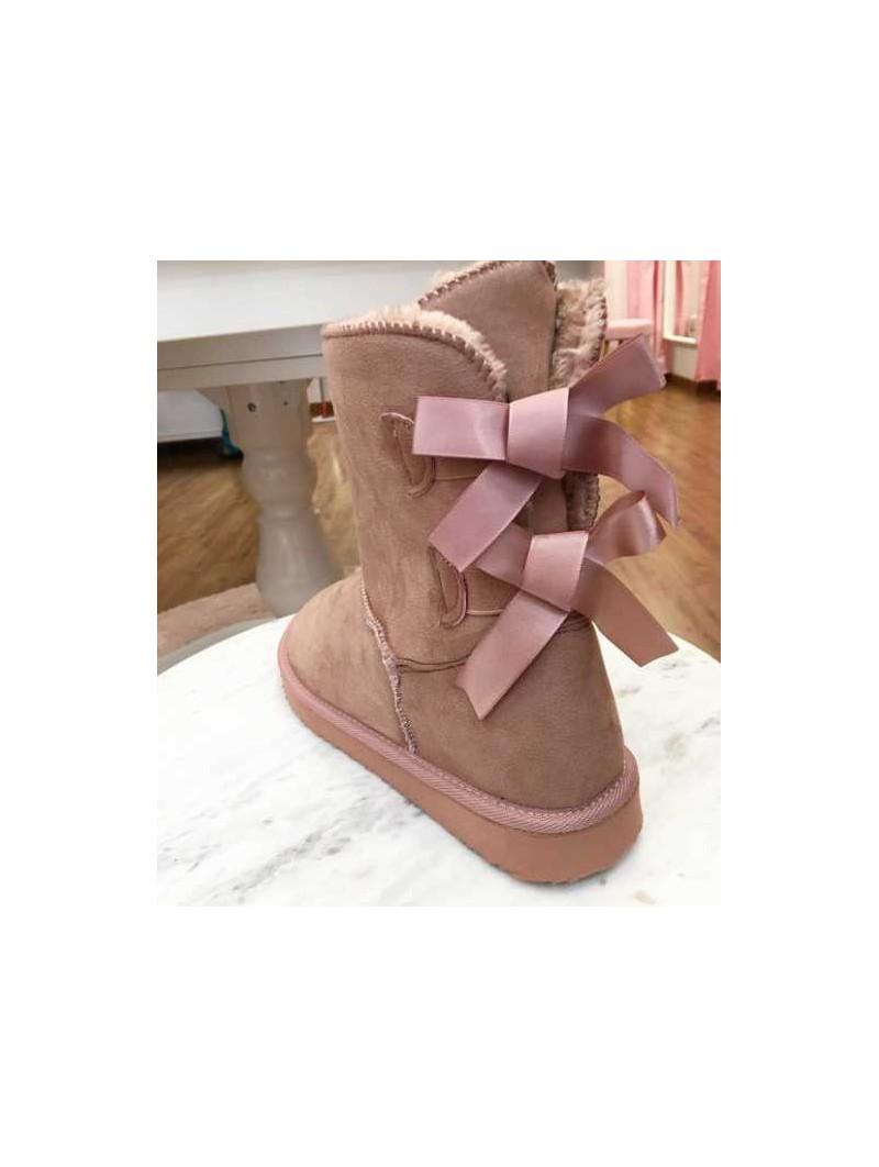 Bota dos lazos rosa