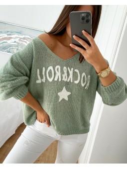 Suéter verde claro...